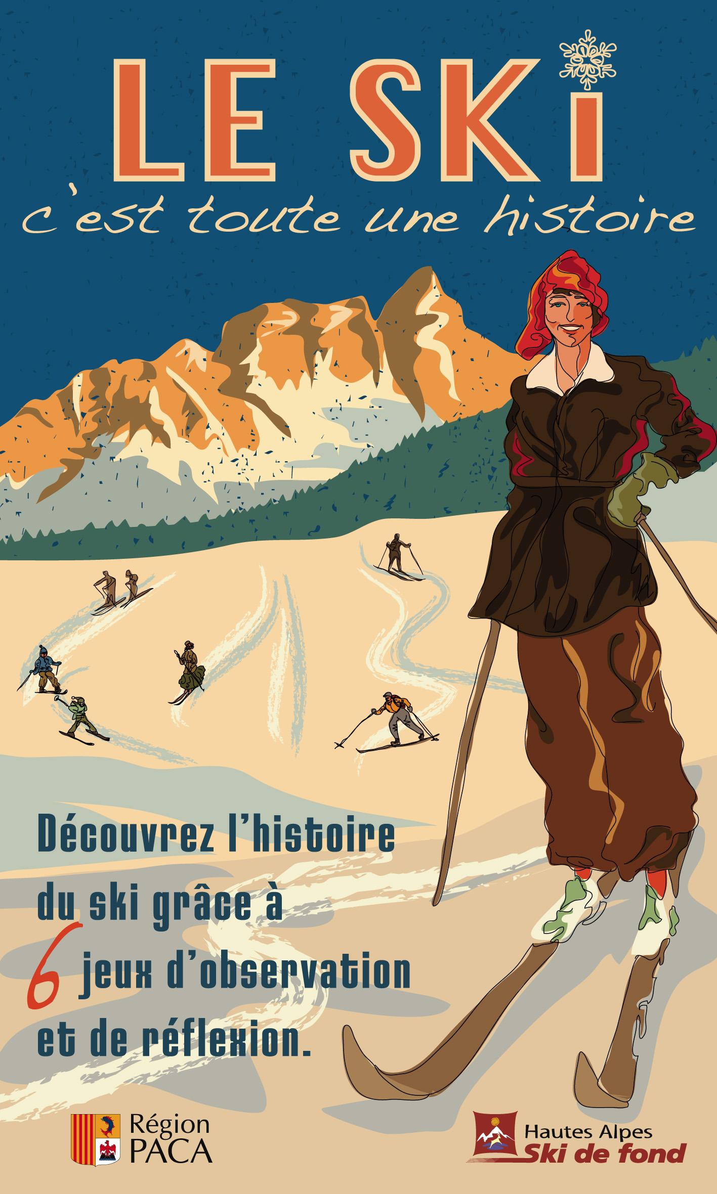 Couverture école de ski livre ed