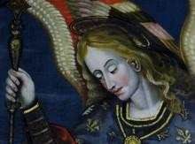 Saint Michel archange, détail