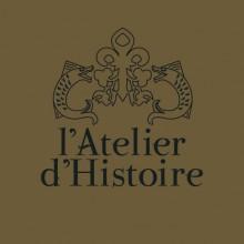 Le logo de L'Atelier d'Histoire créé par Régis Ferré