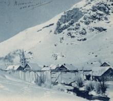 Une scierie à Névache