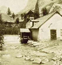 Un moulin au Casset, Le Monêtier